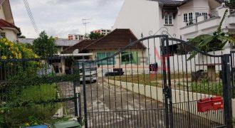 Nice land for rebuild @ Serangoon Garden Estate