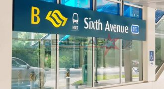 Semi-D with ample potential – 5 mins to SIXTH AVENUE MRT